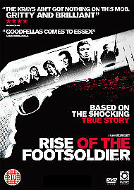 Rise Of The Footsoldier Dvd Ricci Harnett Brand New & Factory Sealed