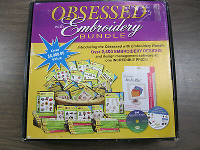 Obsessed with Embroidery Bundle, Amazing Designs 2,400 + 600 more