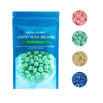 50g Depilatory Hard Wax Beans Waxing Effective Body Hair Removal Anti-allergic