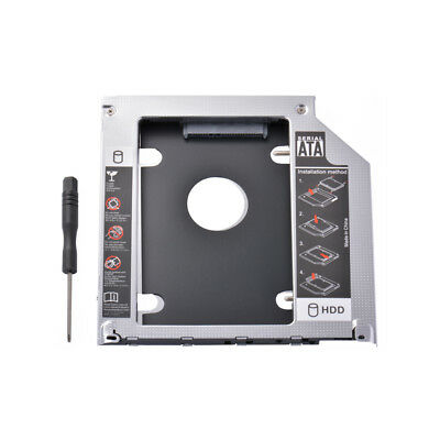 2nd HD HDD SSD Hard Drive Caddy Adapter for Macbook Pro 2009/10/11/12/13 AC1724