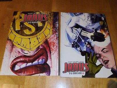 Judge Dredd  Megazine Comics  - Janus Psi Division Vol' 1 & 2