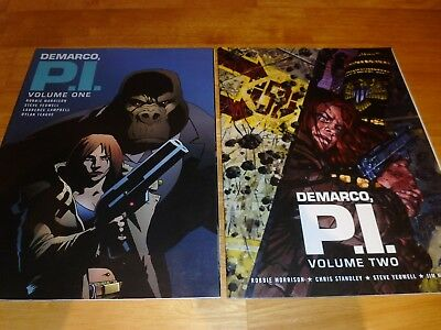 Judge Dredd  Megazine Comics  - Demarco P.I  Vol' 1 & 2
