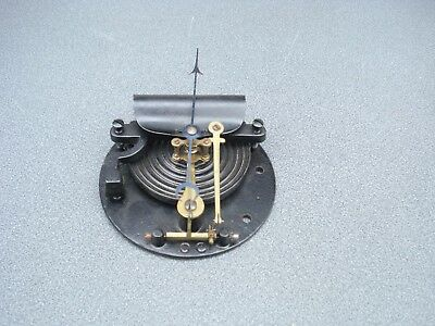 "Large Aneroid Barometer Movement & Pointer For A 6"" Dia Dial Parts Spares"