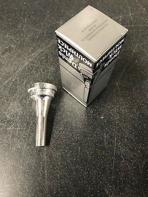 Denis Wick SM3.5 Euphonium Mouthpiece-New,Unused Silver Plated-