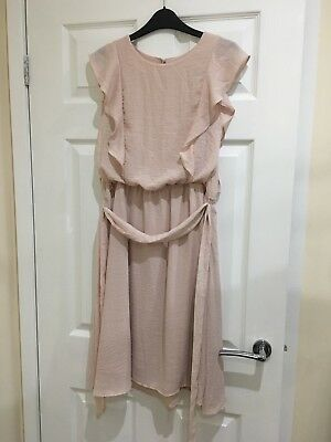 H&M Nursing Breastfeeding Dress Pink Size Medium (8/10) Brand New!