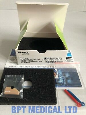 Phonak Nathos S + RIC W Digital Hearing Aid NEW in BOX ref 050-0942-F638