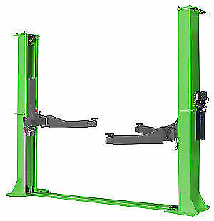 Strongman 3.5T 240v Electro Hydraulic Two Post Vehicle Lift Ramp Car 1