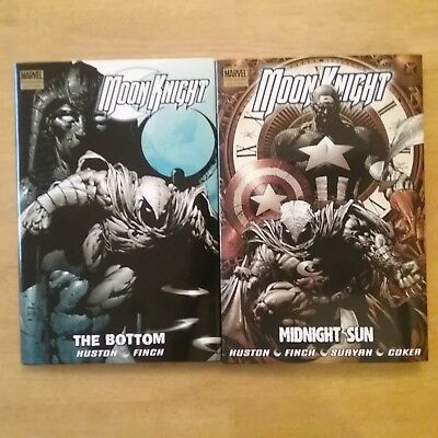 Moon Knight Premiere Hardcovers - Volumes 1 And 2