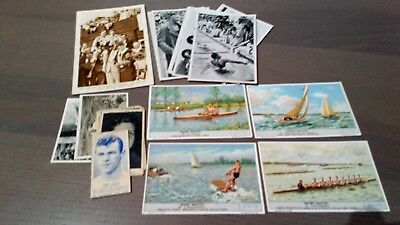 Bargain batch of vintage sports trade cards/postcard