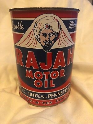 Rajah Motor oil qt can (Reproduction)
