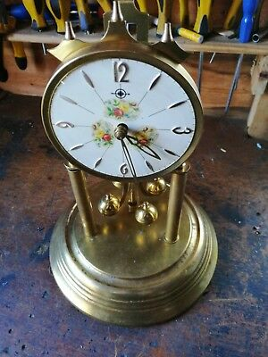 Vintage Dome clock parts only