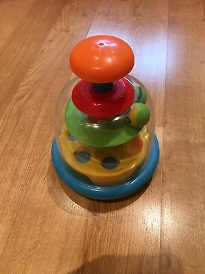 Babys Push Ball Spin Dome Toy
