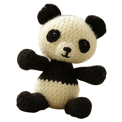Panda Adults Learn To Crochet Complete Kit Valentine's Day Gift