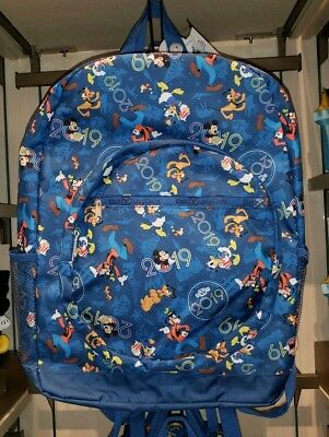 NEW Walt Disney World 2019 Mickey & Friends 4 Park Icons Backpack! Bag Parks