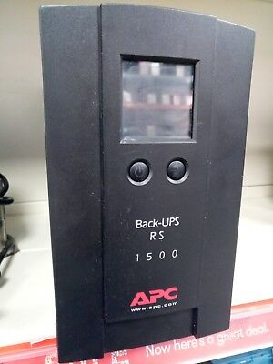 APC Back-UPS RS 1500 BR1500LCDI Uninterruptible Power Supply