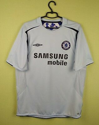 competitive price d0116 27d1a CHELSEA JERSEY SHIRT 2005/2006 Away official umbro soccer football size XL