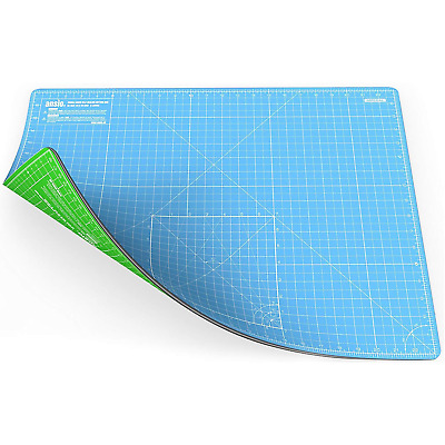 ANSIO Cutting Mat Self Healing A2 Double Sided 5 Layers Imperial/Metric 22.5...
