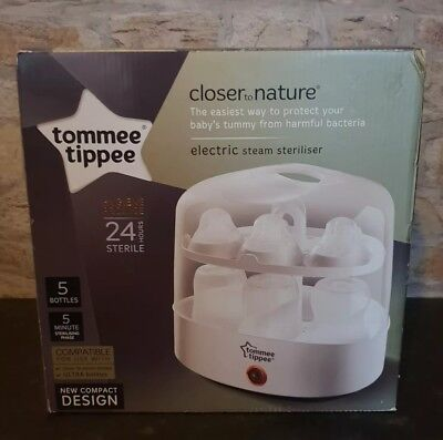 Tommee Tippee Closer To Nature Electric Steriliser White