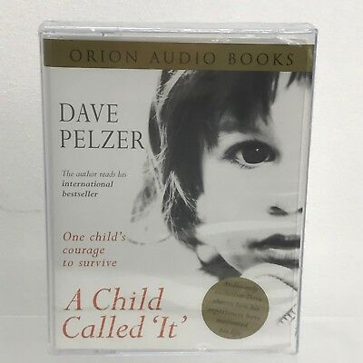 NEW CASSETTE AUDIO BOOK A Child Called 'It' Written & Read By Dave Pelz 43821