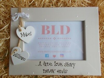 Valentines Day Engagement Personalised Photo Picture Frame Keepsake Gift 6x4