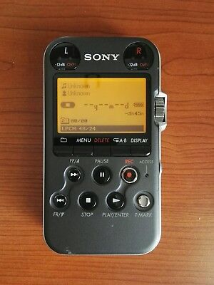 Sony PCM-M10 Linear PCM Recorder