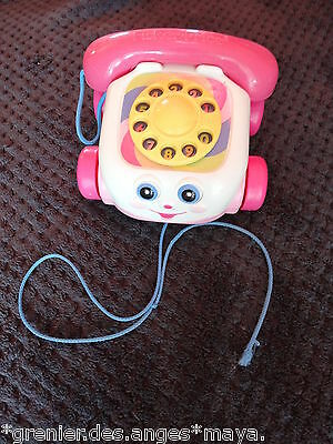 ☀ Telephone Fisher-Price Rose Tbe ☀