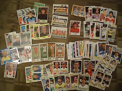 PANINI stickers FOOTBALL BELGIE mix 70's 80's rare 90x stickers BELGIQUE FOOT