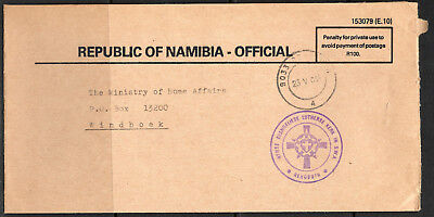 Namibia 90s Official Cover Rehoboth 23.05.94 Rynse Evangeliese Lutherse Kerk SWA