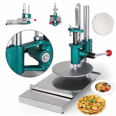 7.8inch Manual Pastry Press Machine 20CM Commercial Sheeting  Pizza Crust