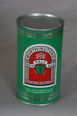 Worthington India Pale Ale Flat Top Beer Can