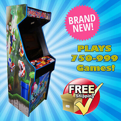 Mario Themed  in a Beautiful Upright Arcade Cabinet! ARCADE OF THE YEAR! Pandora
