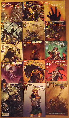 The Darkness..set of 15 Top cow/Image comics