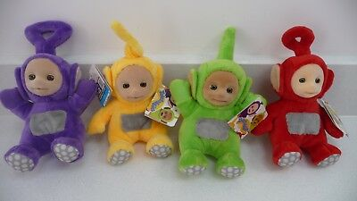 TELETUBBIES SUPER SOFT COLLECTABLE PLUSH 19 cm TALL BEANIE SOFT TOYS BRAND NEW