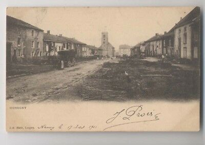 HUSSIGNY  (54 - Meurthe et Moselle) - 1901