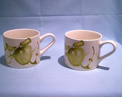 Laura Ashley 2 x Fruits Mugs - New/Unused  Free Uk P&P