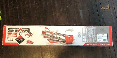 New Rubi Tile Cutter Star 26 Max Light And Easy