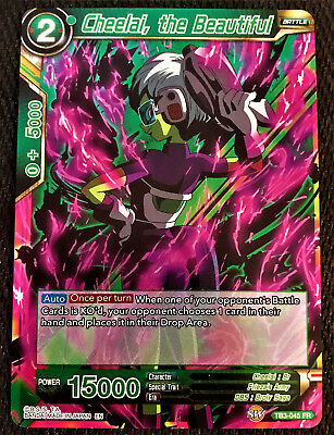 Cheelai, the Beautiful TB3-045 FR Dragon Ball Super TCG Near Mint