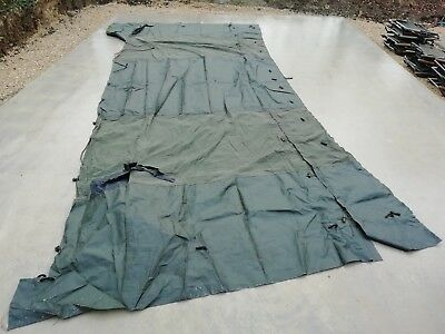 British Army 9x9 Land Rover Wolf TUM Tent Connector Tunnel Military Canvas