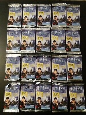20 X Sealed Packs Of Harry Potter Trading Cards job lot
