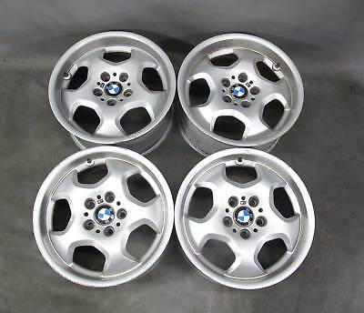 """1997-1999 BMW E36 3-Series Factory 17"""" ///M M Contour Staggered Wheel Set of 4"""