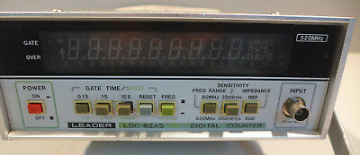 Leader LDC-824S Digital Counter Tested and Working!