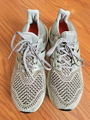 detailed look cc258 2be9c Adidas WOOL GREY Ultra boost Men s Size 10 S77515 pre-owned running trainer