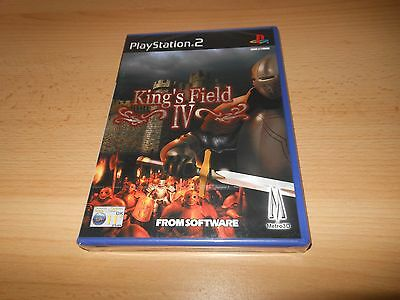 KING'S FIELD IV FOR PLAYSTATION 2 PAL NEW SEALED ps2