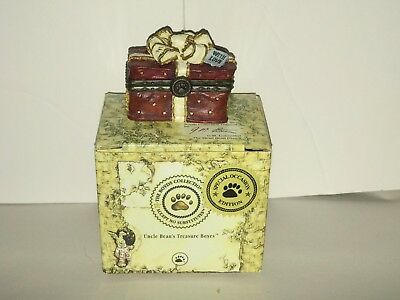 Boyds Treasure Boxes  #82030 SWEETCHEEKS Box o Chocolates Valentines Mothers Day