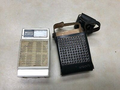 Vintage Sony AM All Transistor Pocket Radio Model 2R-22 - Works