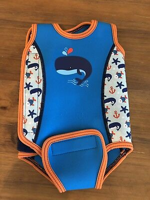 Mothercare Baby Wetsuit Size 3-6 Months *Used Twice*