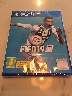 PS4 Fifa 19 Game Brand New And Sealed