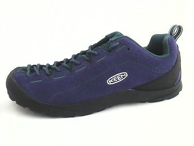 f7a92abaec88 KEEN Jasper Hiking Shoes Purple Suede Green Climbing Women s US 10.5 to 11  New