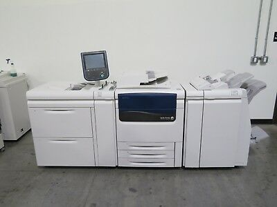 Xerox Color J75 Press Copier Printer Scanner - Only 745K meter  - 75 ppm color