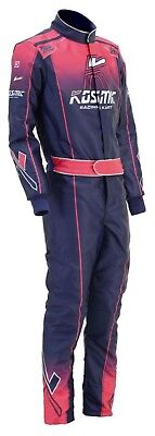 Kosmic-Blue-Red-Go Kart Racing Suit Cik Fia Level Ii